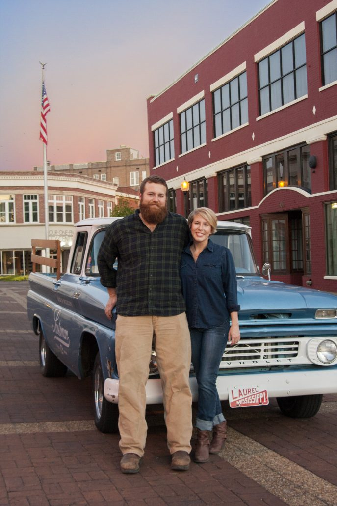 Erin & Ben Napier of HGTV Home Town