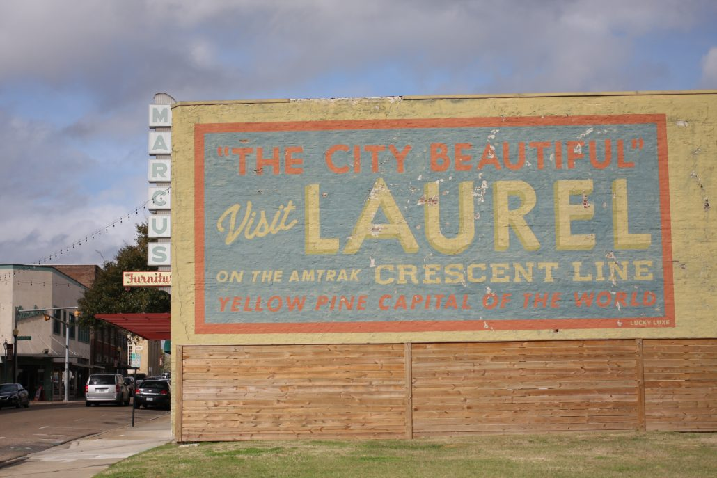 Visit Laurel Mural by Erin Napier