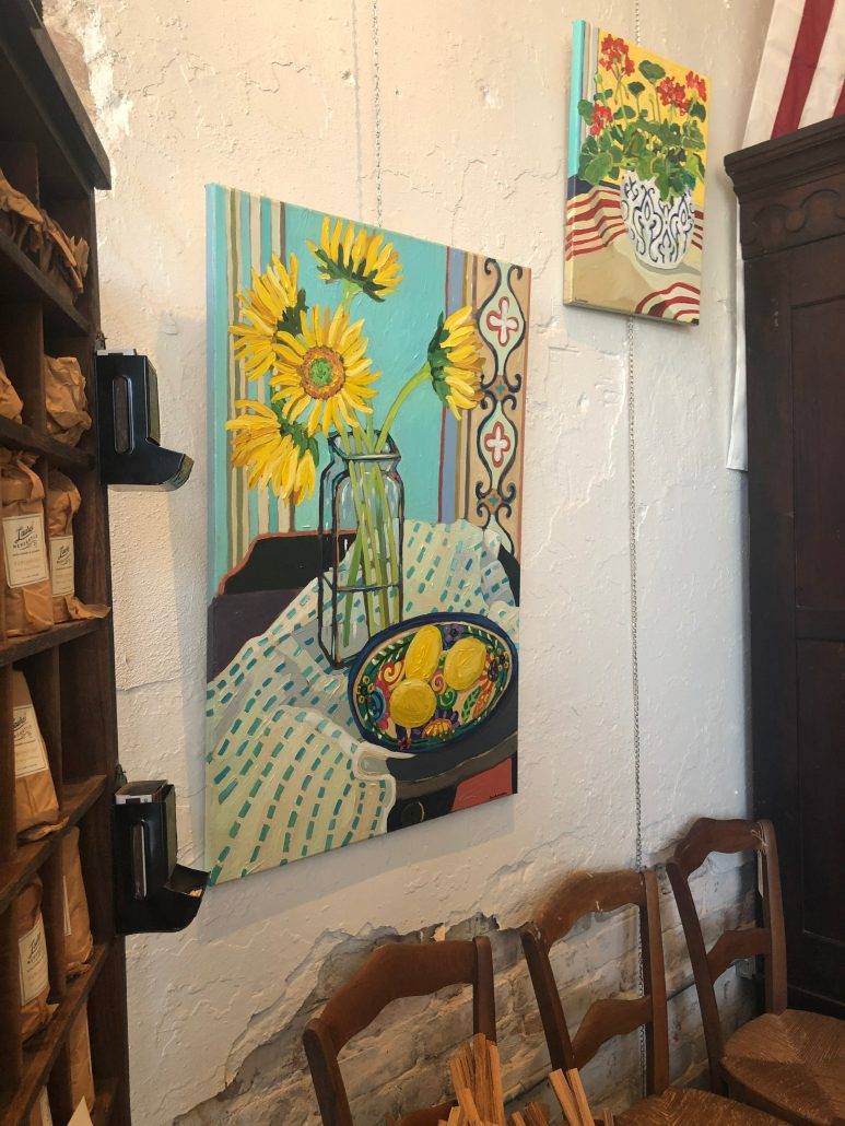 Paintings by Mandy Buchanan as seen on HGTV's Home Town