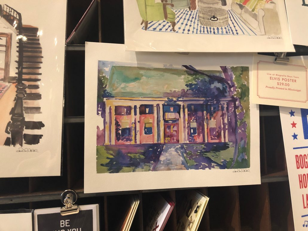 Lauren Rogers Museum of Art Painting by Erin Napier