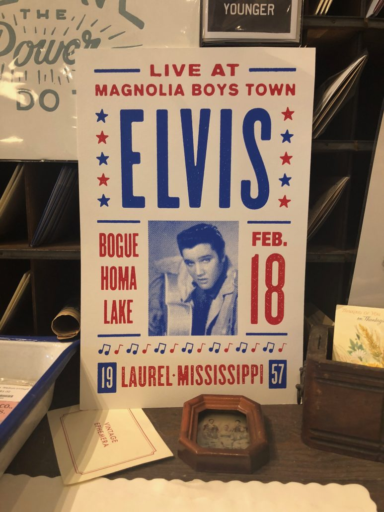 Elvis Presley Poster by Ethan Manning